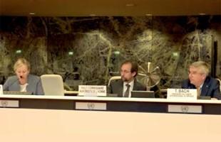 Alto Comisionado de las Naciones Unidas para los Derechos Humanos y Presidente del Comité Olímpico Internacional