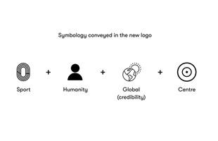 Nouveau logo de marque moyen