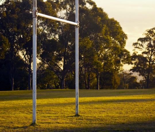 Vignette du poteau de but de rugby