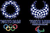 Logo du comité d'organisation des Jeux Olympiques et Paralympiques de Tokyo 2020